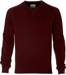 hensen pullover - slim fit - bordo