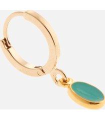 isabel marant women's casablanca resin earrings - pacific