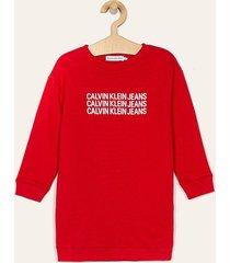 calvin klein jeans - sukienka dziecięca 104-176 cm