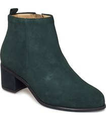 town zip boot suede shoes boots ankle boots ankle boots with heel grön royal republiq