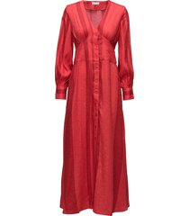 2nd iselin maxi dress galajurk rood 2ndday