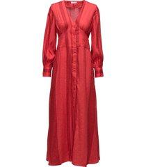 2nd iselin maxi dress galajurk rood 2ndday
