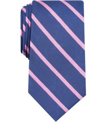 club room men's stripe tie, created for macy's