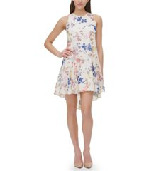 tommy hilfiger wild heart floral fit & flare dress