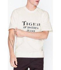 tiger of sweden jeans ejime sweatshirt t-shirts & linnen birch bark