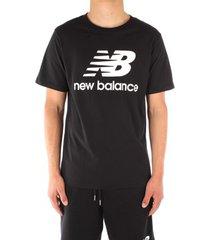 t-shirt korte mouw new balance mt01575bk