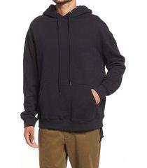 men's ksubi kross biggie cotton hoodie, size large - black