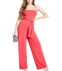 guess eco jenny sleeveless jumpsuit