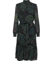 delicate jacobin dress knälång klänning grön bruuns bazaar