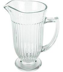 conjunto de 6 copos de 270ml e uma jarra de 1l de vidro graúna