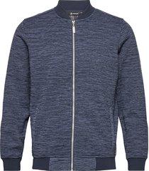 mens hurst wind fleecejkt outerwear sport jackets blå abacus