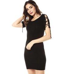 vestido negro ambiance