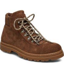tomas boot 6724 snörade stövlar brun samsøe samsøe