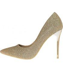 zapato fiesta abril dorado weide