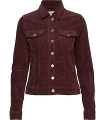 dhmolly jacket jeansjack denimjack rood denim hunter