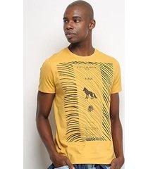 camiseta t-shirt acostamento ocean masculina