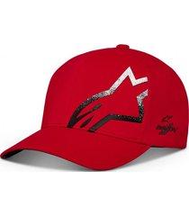 gorro corp shift comet delta rojo alpinestars