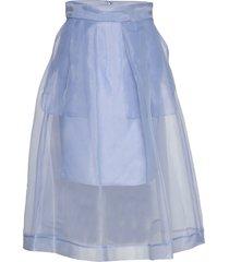 sashenka knälång kjol blå baum und pferdgarten