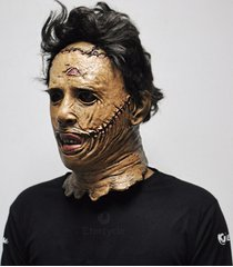 the texas chainsaw massacre leatherface masks scary movie cosplay mask