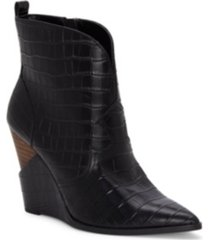 jessica simpson hilrie wedge booties women's shoes
