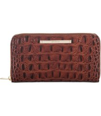 brahmin suri melbourne embossed leather wallet
