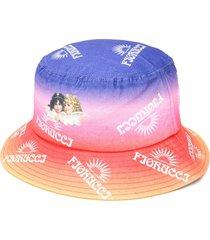 fiorucci sunset bucket hat - purple