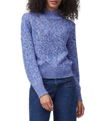 french connection lora puff-sleeve sweater