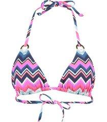bikini lascana zigzag zwempak top