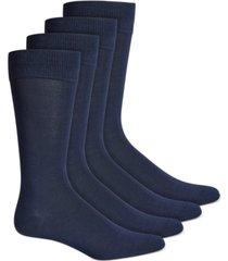 alfani men's 4-pk. textured socks, created for macy's