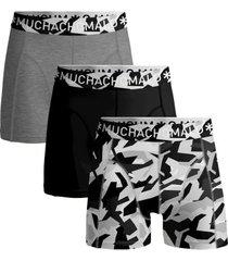 muchachomalo 3 stuks cotton stretch duche boxer