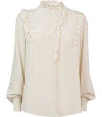 blouse off white