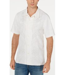 tommy bahama men's big & tall oceangrove vines silk shirt