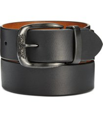 levi's men's smooth leather reversible belt