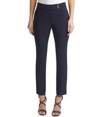 dkny bar-detail skinny pants
