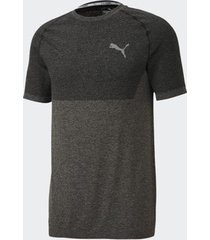 camiseta puma evoknit basic tee preta masculina