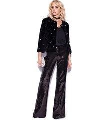 spodnie cekinowe eleganckie