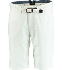 vanguard short stretch twill vsh194102/907 bermuda wit