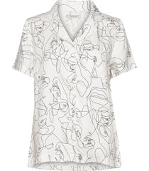 fie short shirt top vit underprotection