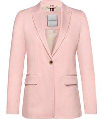 cotton pastel sb bla blazer colbert roze tommy hilfiger