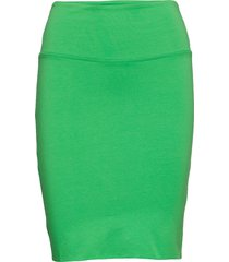 penny skirt knälång kjol grön kaffe