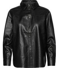 sc-beckie långärmad skjorta svart soyaconcept