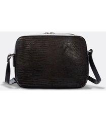 bolso de cuero diseño trenzado para mujer 09500