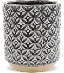 kwietnik osłonka ceramiczna graphite