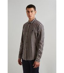 camisa reserva pf vichy botone inv 19 masculina
