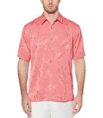 cubavera men's big & tall jacquard tropical shirt