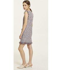 sukienka tweedowa