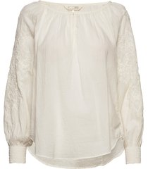 independent blouse blouse lange mouwen crème odd molly