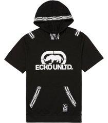ecko unltd men's ss tape hoodie