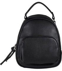mochila bolsillo externo chico negro mailea
