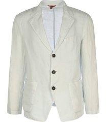 barena single-breasted linen blazer